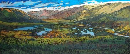 Muskwa Kechika Painting