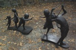 David Kocka sculpture: The Children's International Peace and Harmony Statue