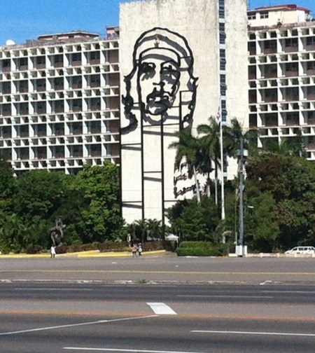 The iconic image of Che Guevara was everywhere! In Cuba we learned that the photographer, Korda, is highly respected for the impact of his work on the world's view of the revolution.