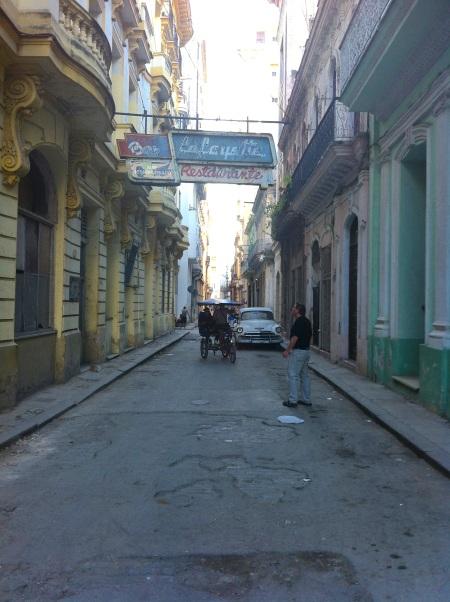 Deryk near our casa Havana Vieja