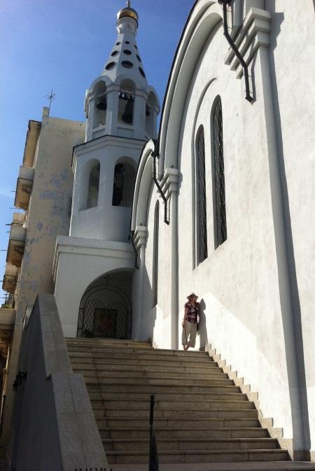 Elizabeth at church on Malecon Havana