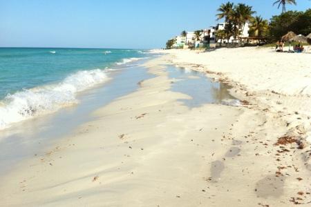 gorgeous beach at Varadero