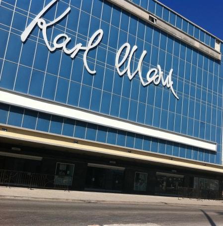 Karl Marx Theatre in Havana