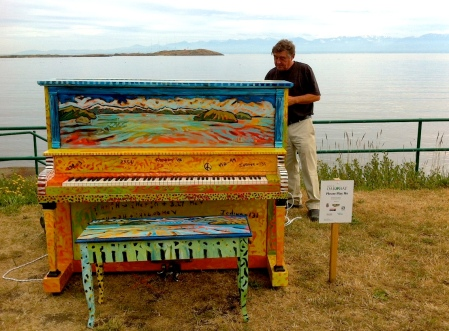 Piano in Oak Bay